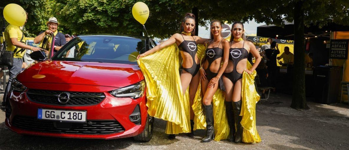 Street Parade 2019: Opel goes electric