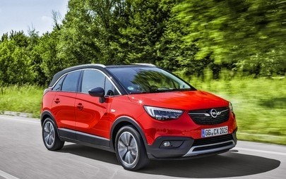 "Opel Crossland X ist ""Best in Class Car 2017"" bei Euro NCAP"